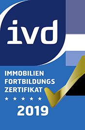 ivd Immobilien Fortbildungszertifikat 2018